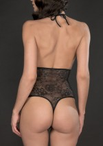 Lys high-waisted harness thong Villa des Lys Maison Close