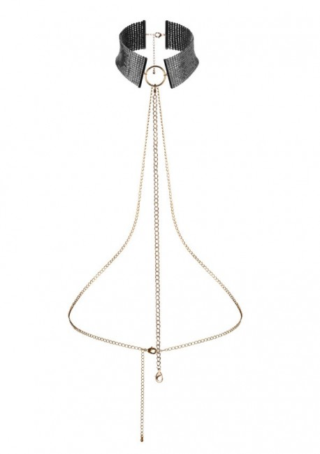 Désir mesh collar harnessDésir métalliqueBijoux Indiscrets