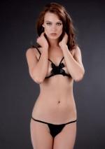 Cupless bra with bowLe Petit SecretMaison Close