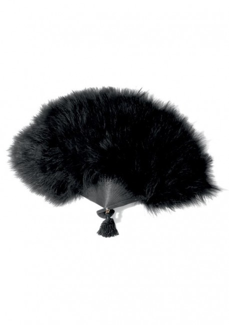 Le Soupirant feather fan Les Burlesques Maison Close
