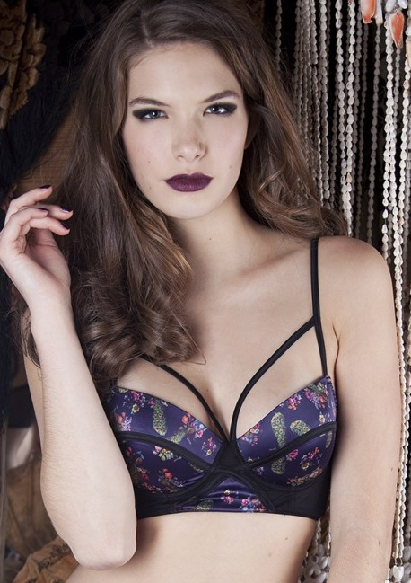Peacock bustier bra Peacock Playful Promises
