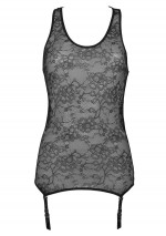 Lys tank top with suspenders Villa des Lys Maison Close