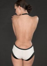 Cabaret Smoking high waisted shorty with harness Cabaret Smoking Maison Close