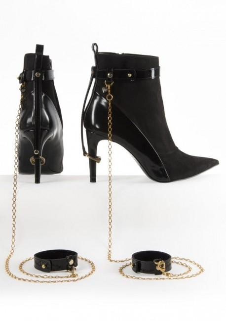 Bracelet cheville et poignet La captive - Fräulein Kink