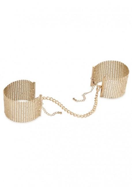 Désir golden handcuffs Désir métallique - Bijoux Indiscrets