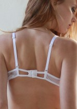 Soutien-gorge double x blanc Flash You And Me