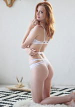 Thong with white strapsFlash You And Me