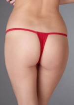 Open red thong Le Petit Secret Maison Close