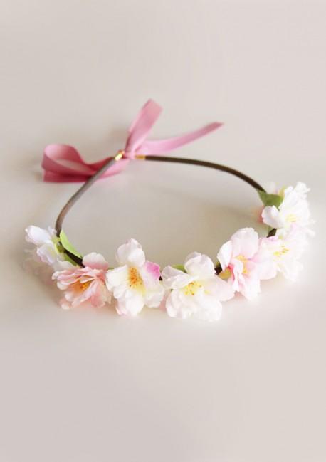 Couronne de fleurs de cerisier Sa Majesté