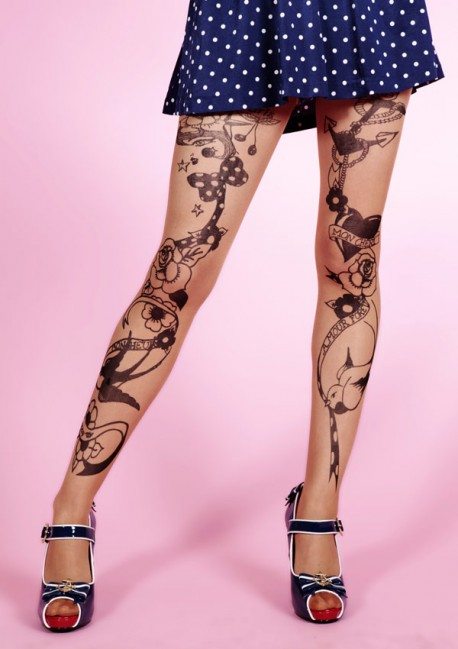 Collant Tattoo Circus Fantaisie - Mirey