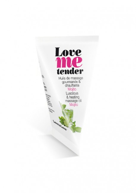 Huile de massage Love Me Tender mojito en berlingot Love me tender Love to Love