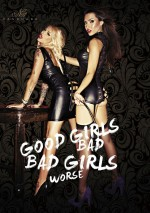 Guêpière Bad Lupa Good girls bad, bad girls worse Noir Handmade