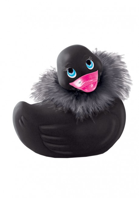 Canard Paris noir I Rub My Duckie Big Teaze Toys