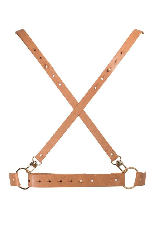Brown maze harness Maze - Bijoux Indiscrets