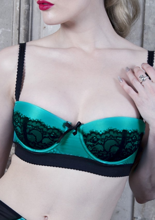Sarcelle push-up bra Paradise - Playful Promises