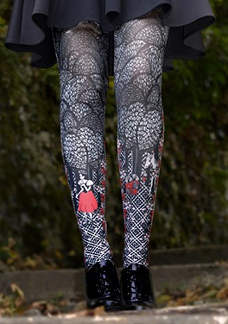ab268a743c3a6 Blanche-Neige tights from the designer Marie Antoilette