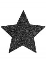 Cache-tétons paillettes noirs étoilesFlashBijoux Indiscrets