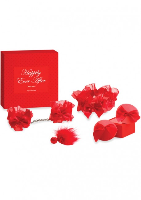 Coffret St valentin Happily Ever After Red label Bijoux Indiscrets