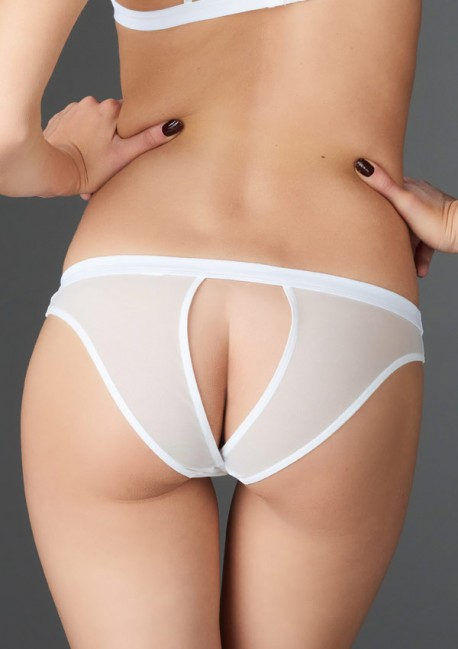 Tentation white open panty Pure Tentation - Maison Close