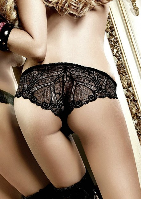 Black lace brief Have fun Princess Baci