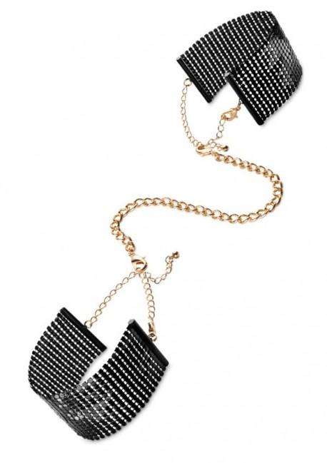 Désir metallic mesh handcuffs Désir métallique Bijoux Indiscrets