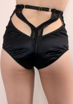Judas black high waisted brief Annabel Something Wicked