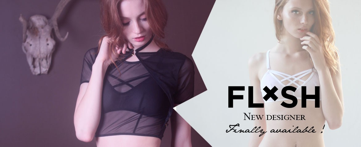 Flash You&Me available at Wild lingerie